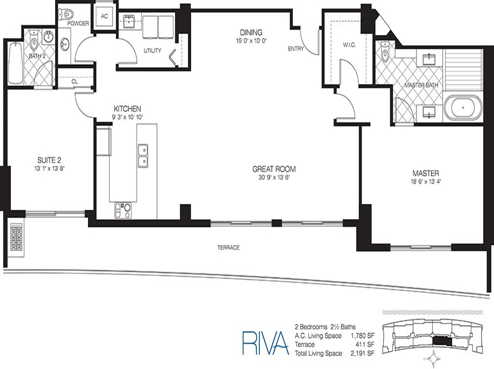 Riva - Floorplan 2