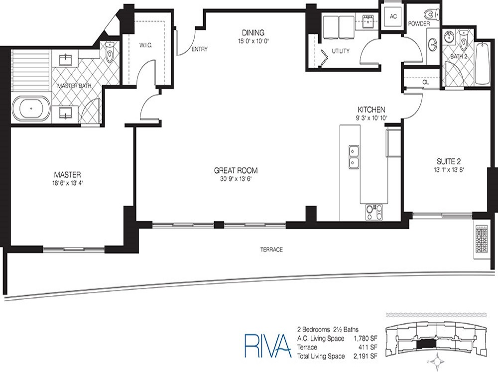 Riva - Floorplan 4