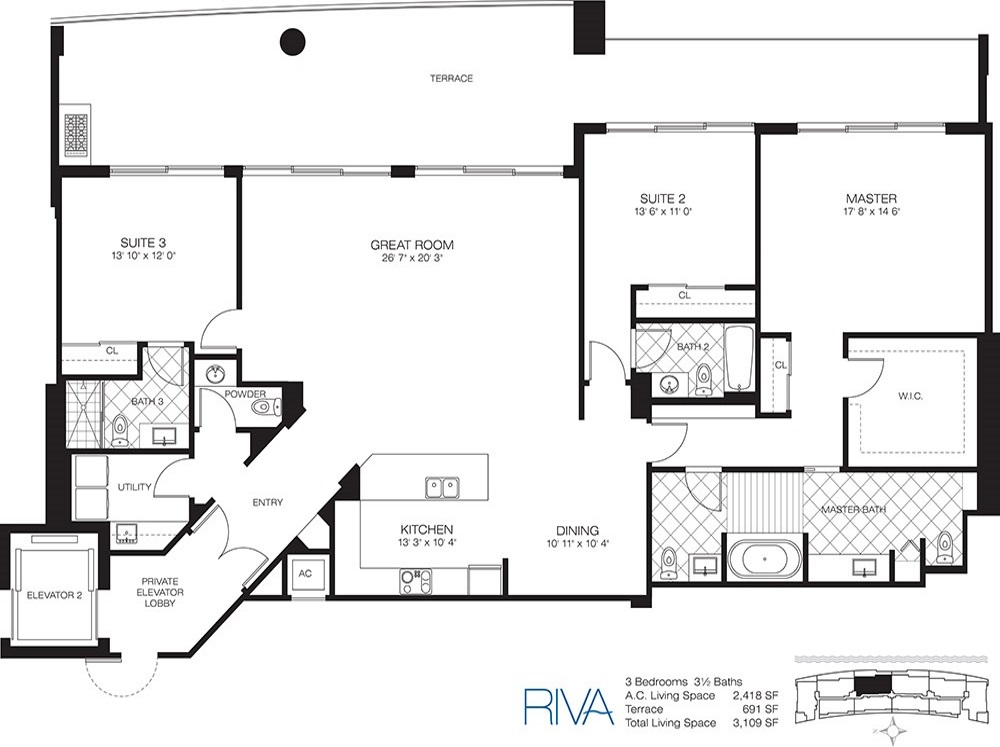 Riva - Floorplan 6