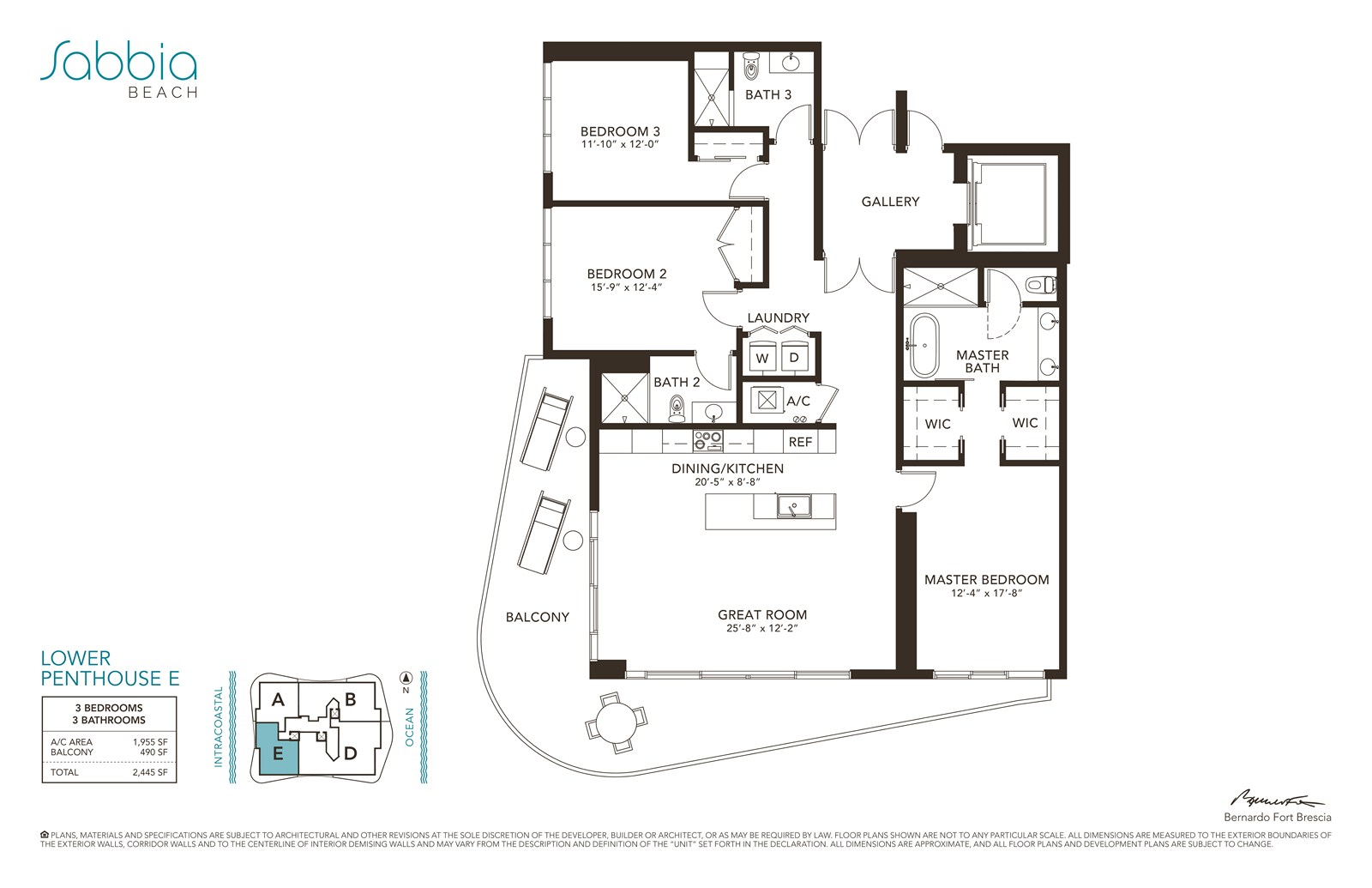 SABBIA Beach Condos - Floorplan 5