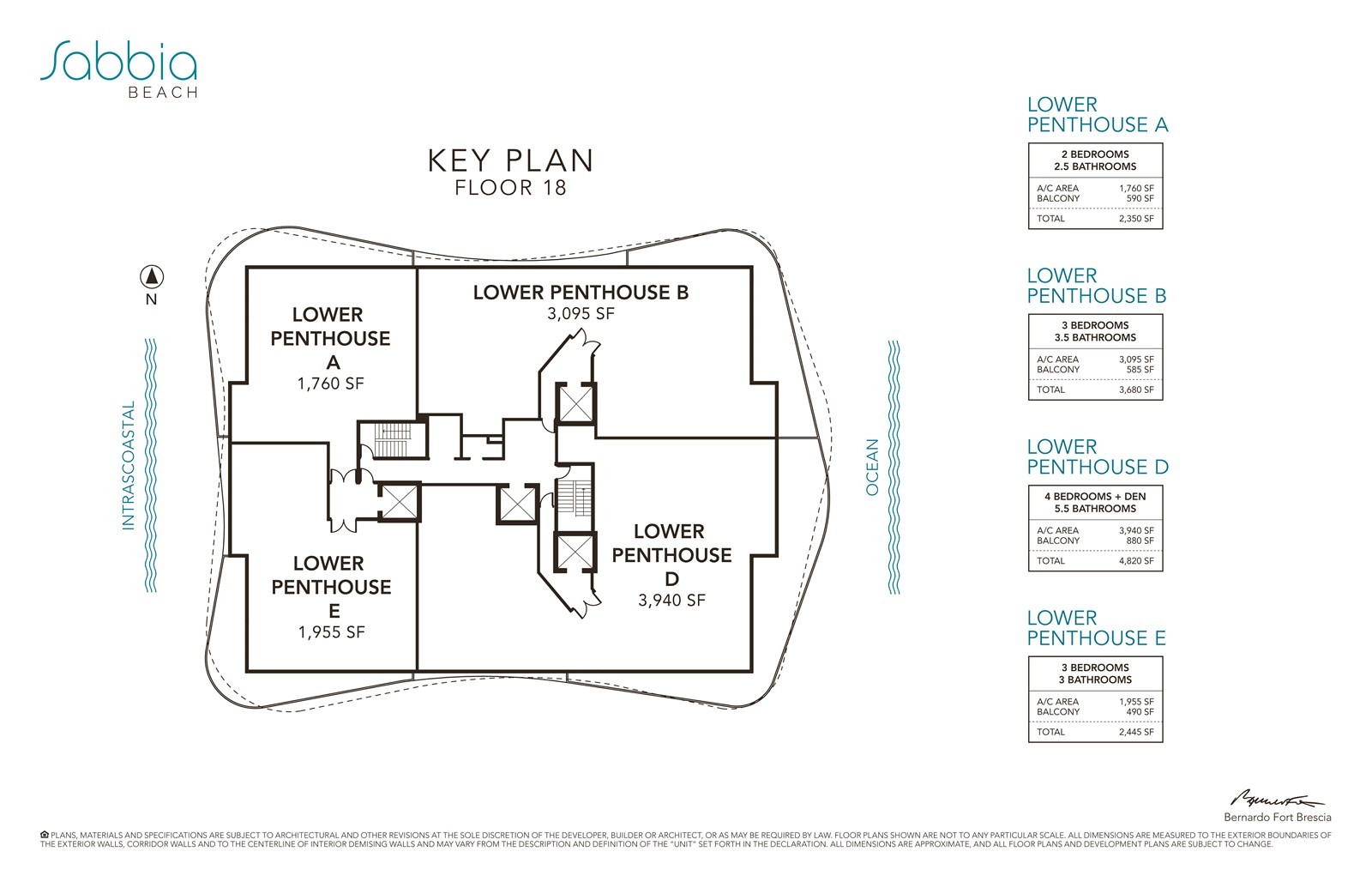SABBIA Beach Condos - Floorplan 7