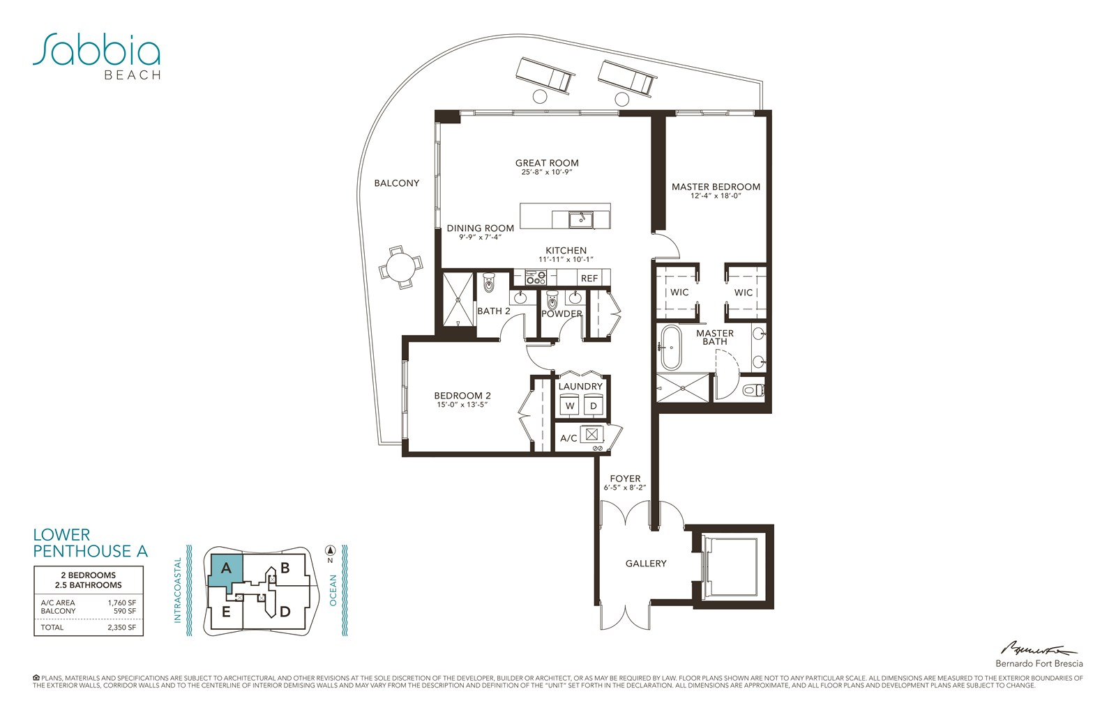 SABBIA Beach Condos - Floorplan 12