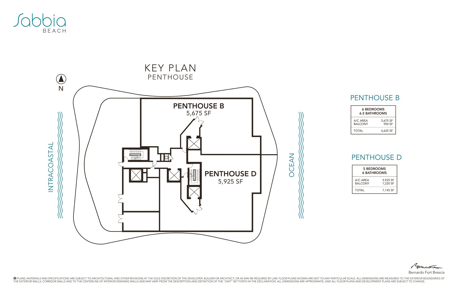 SABBIA Beach Condos - Floorplan 2