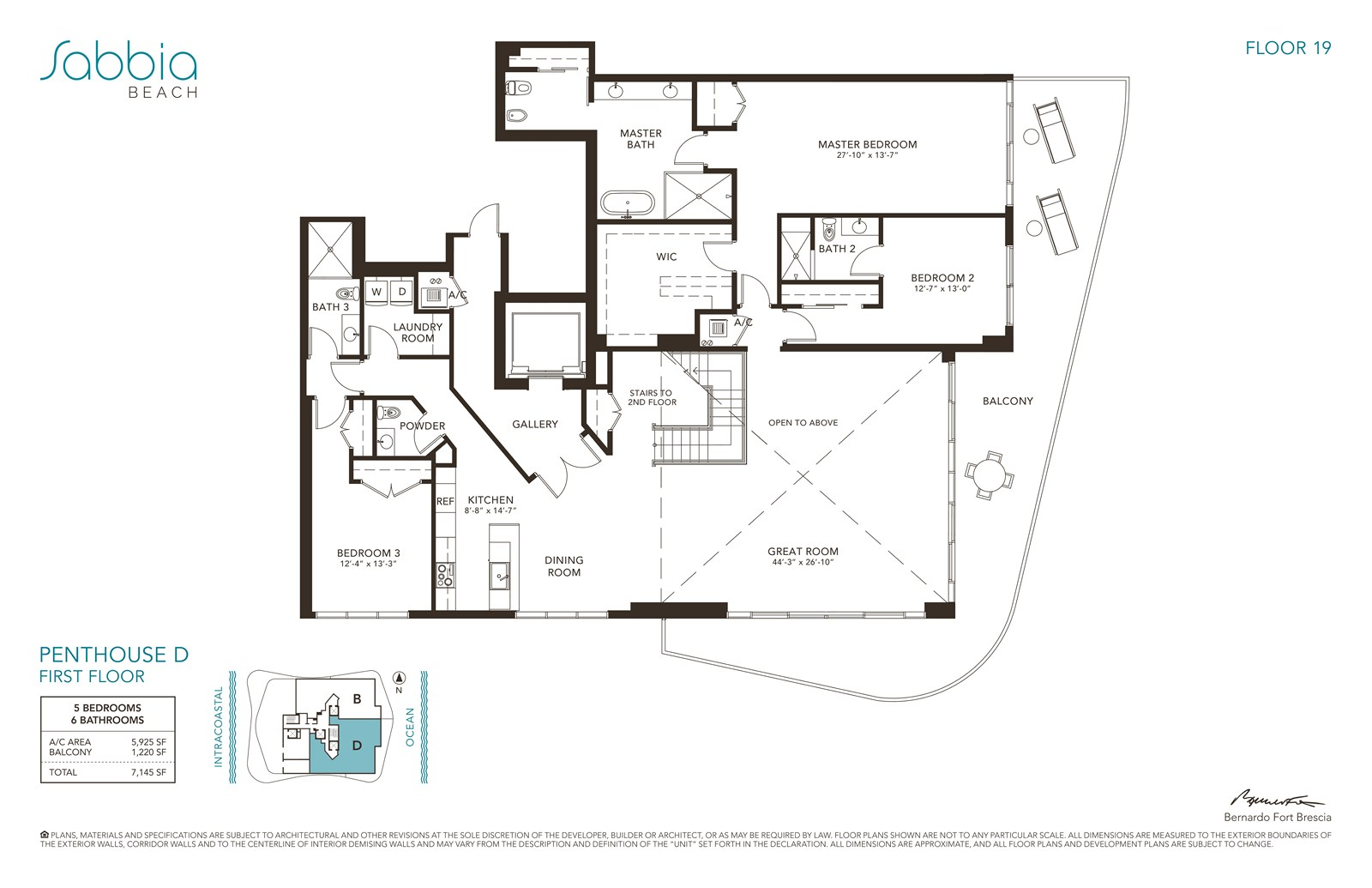 SABBIA Beach Condos - Floorplan 4