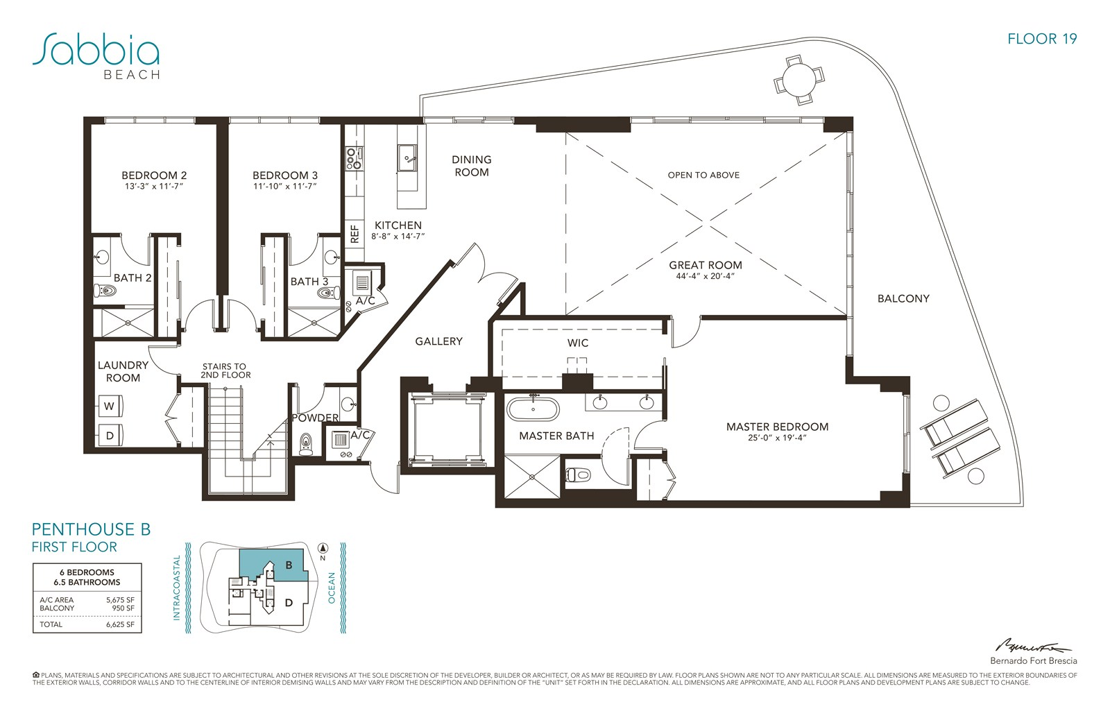 SABBIA Beach Condos - Floorplan 6