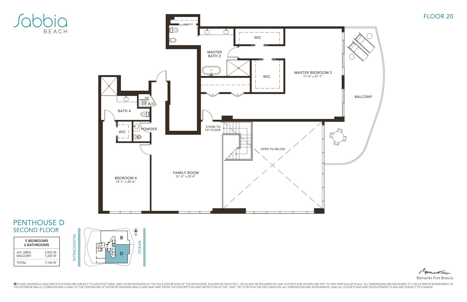 SABBIA Beach Condos - Floorplan 8