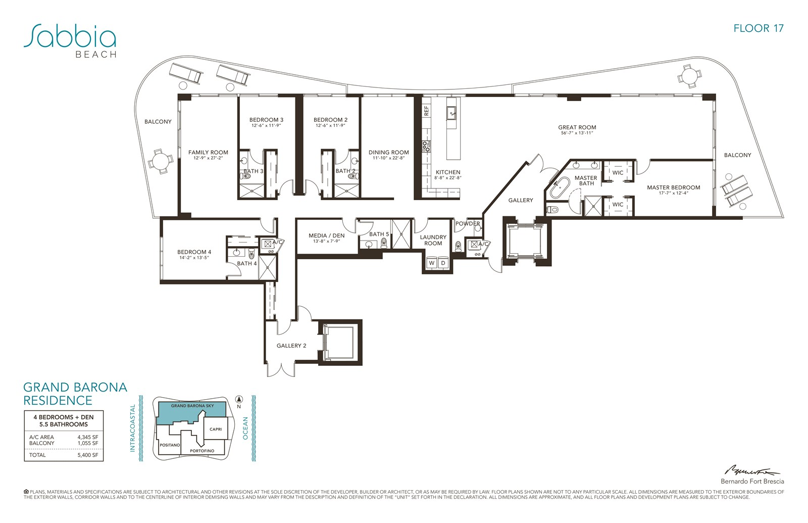 SABBIA Beach Condos - Floorplan 11