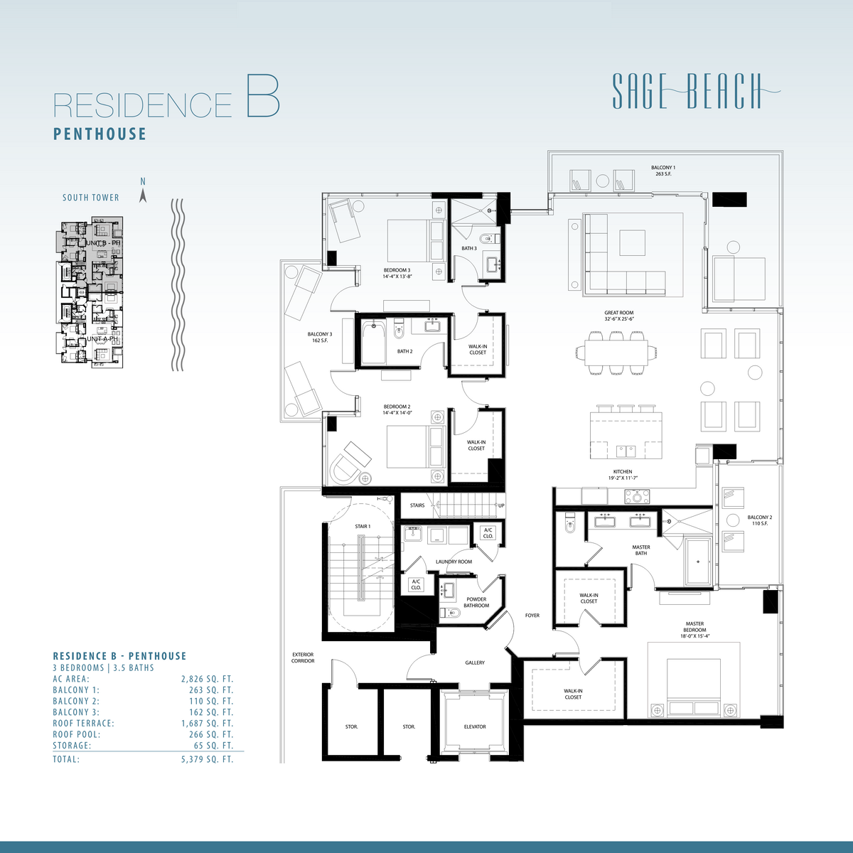 Sage Beach - Floorplan 3