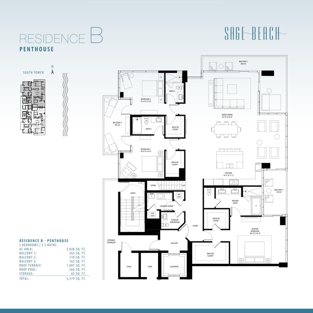 Sage Beach - Floorplan 3
