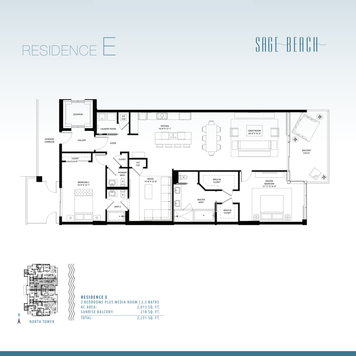 Sage Beach - Floorplan 8