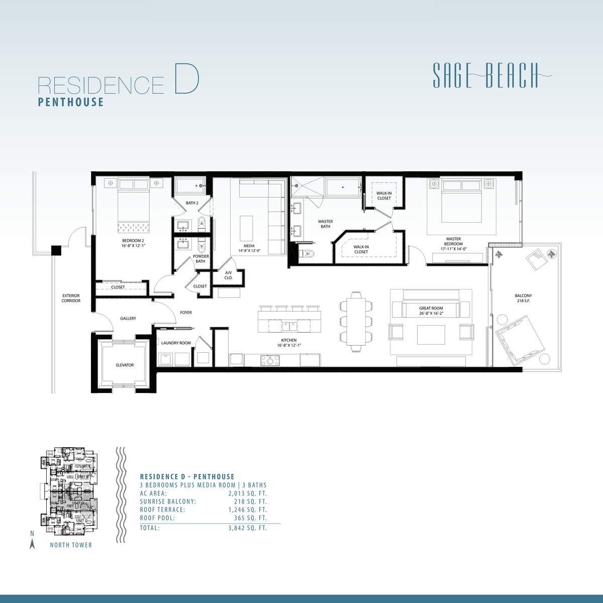 Sage Beach - Floorplan 9