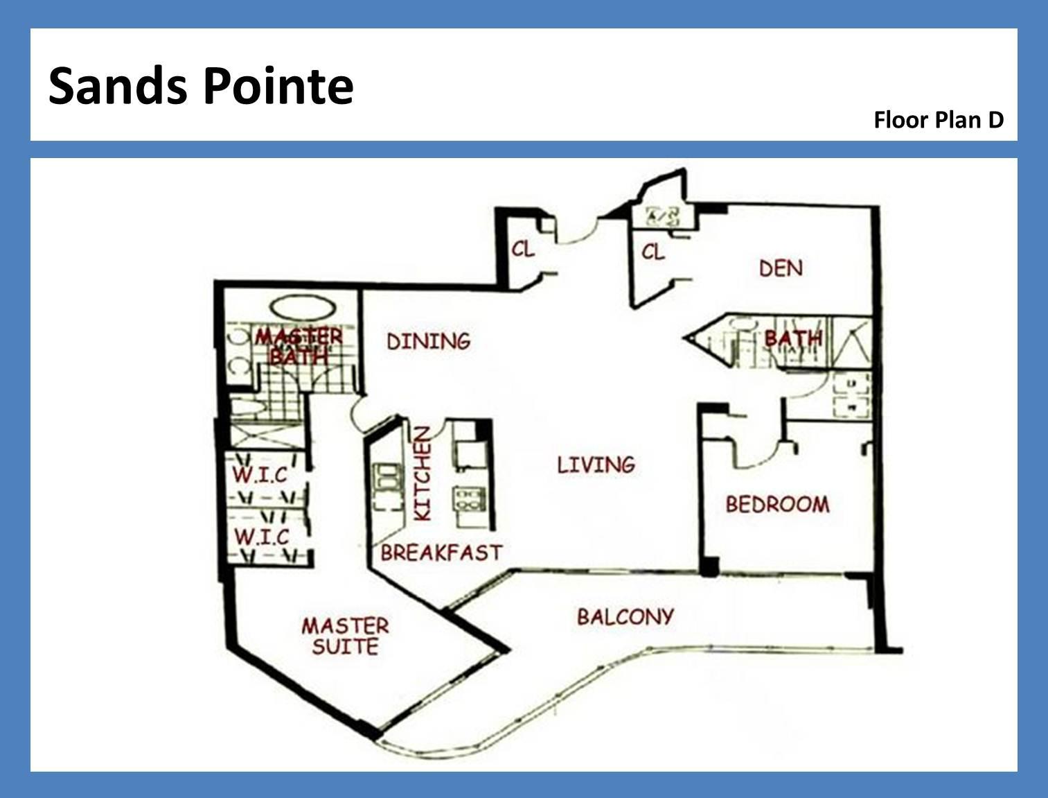 Sands Pointe - Floorplan 1