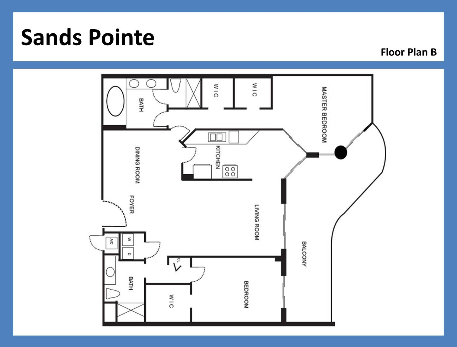 Sands Pointe - Floorplan 3