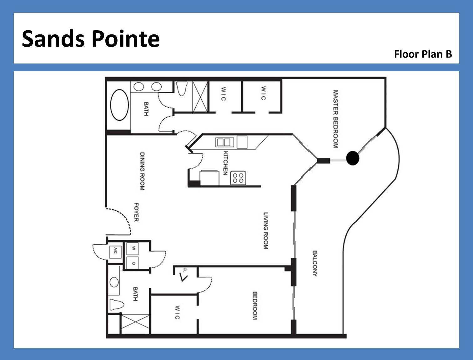 Sands Pointe - Floorplan 3