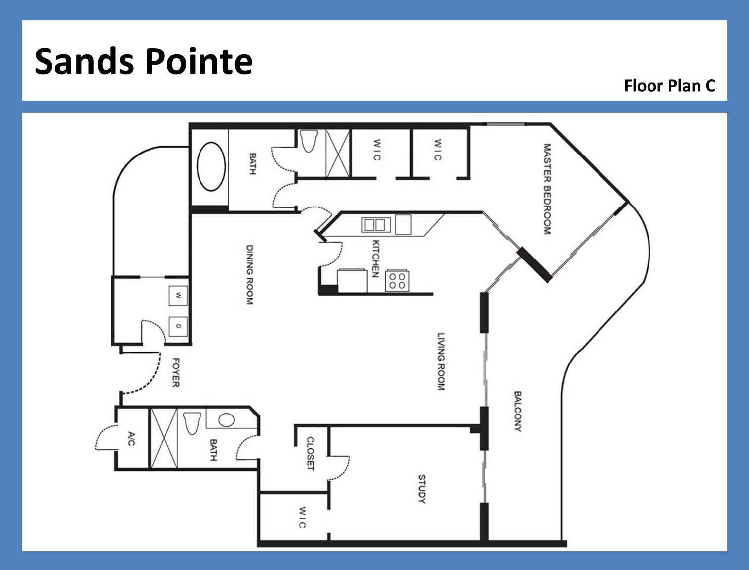 Sands Pointe - Floorplan 6