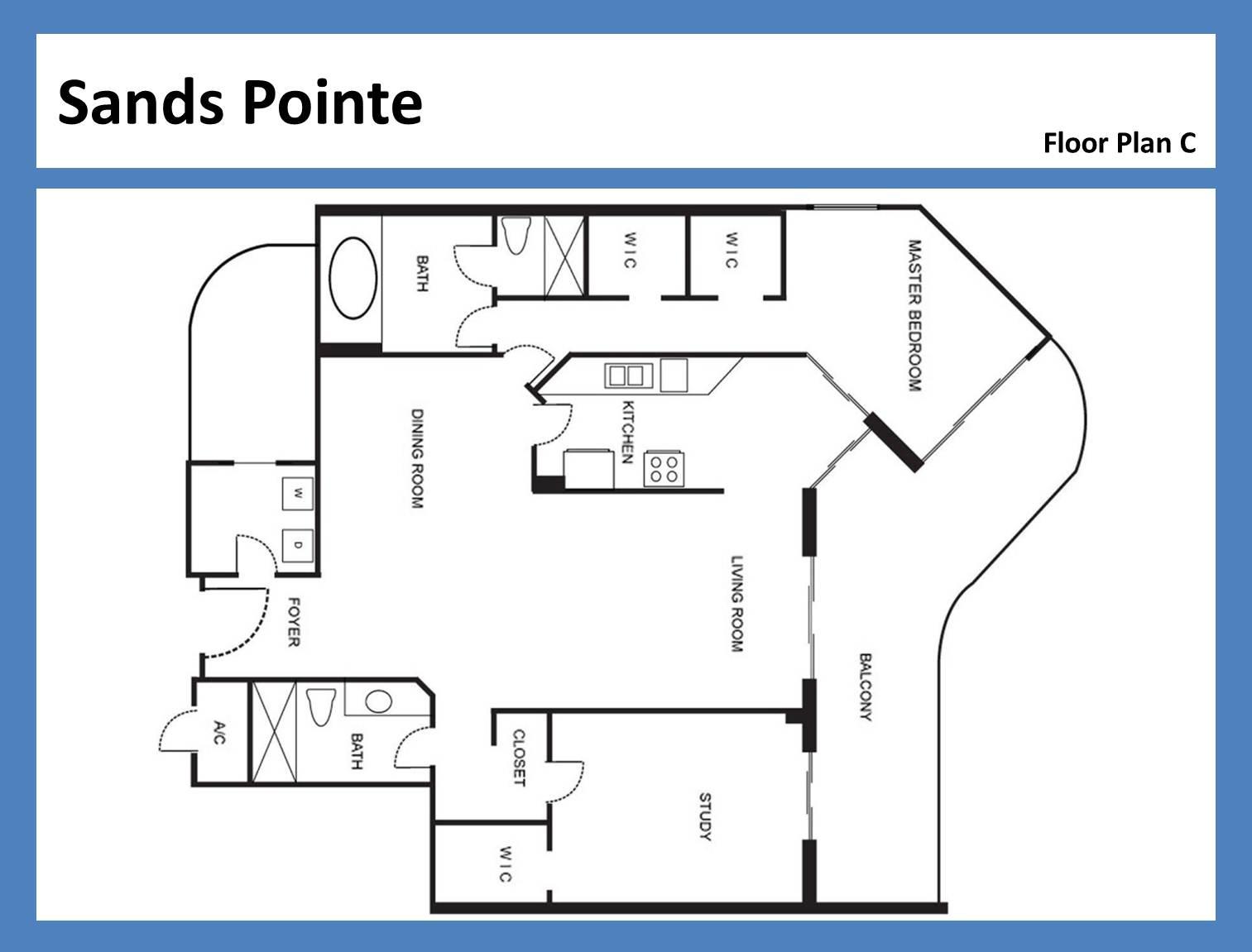 Sands Pointe - Floorplan 6