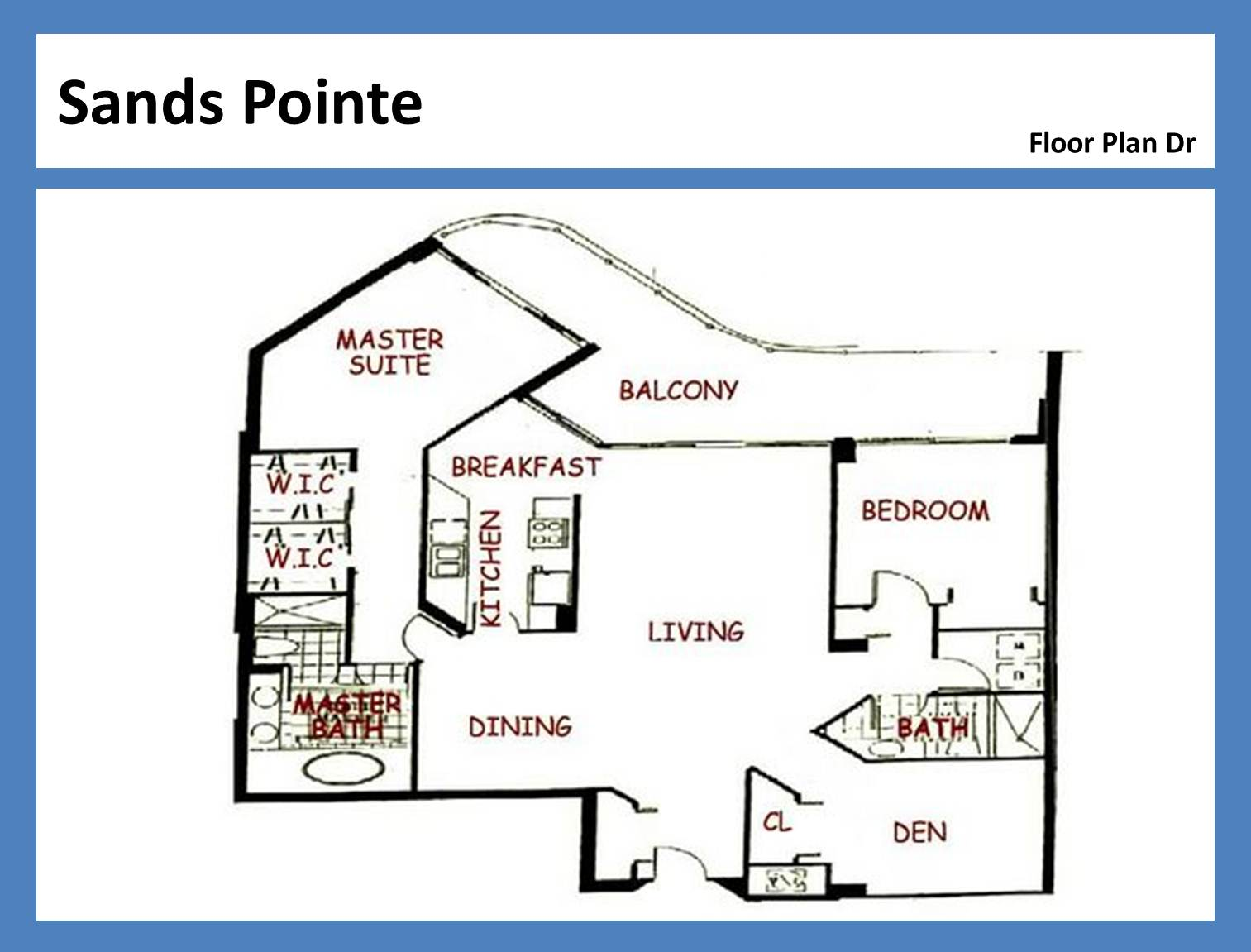 Sands Pointe - Floorplan 7