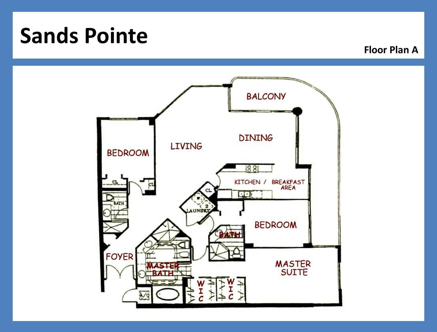 Sands Pointe - Floorplan 8