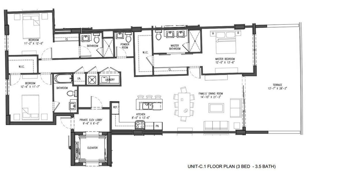 Sereno at Bay Harbor Islands - Floorplan 2