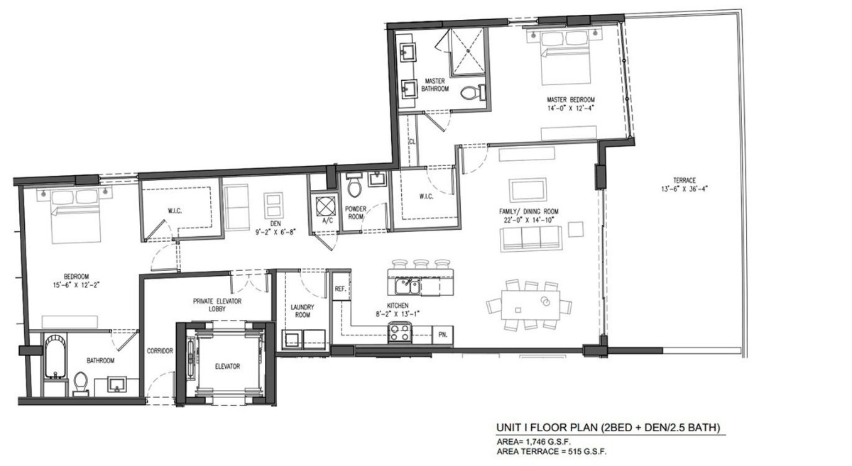 Sereno at Bay Harbor Islands - Floorplan 4