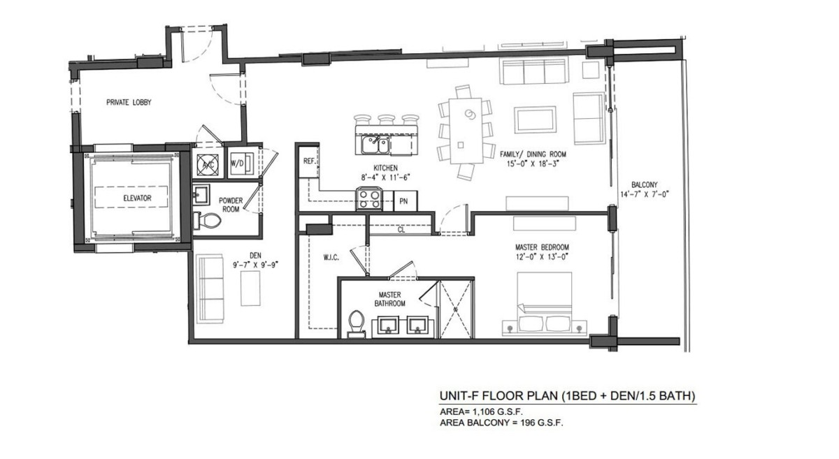 Sereno at Bay Harbor Islands - Floorplan 5