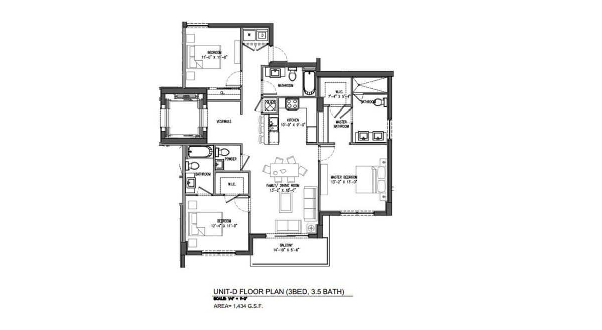 Sereno at Bay Harbor Islands - Floorplan 6