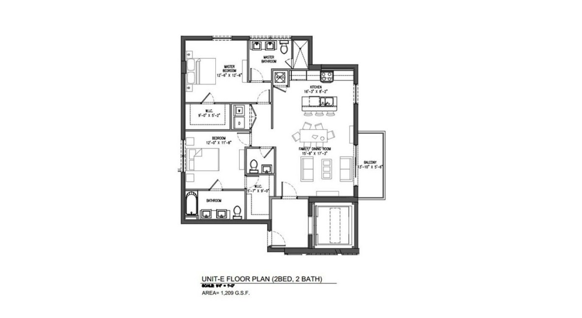 Sereno at Bay Harbor Islands - Floorplan 9