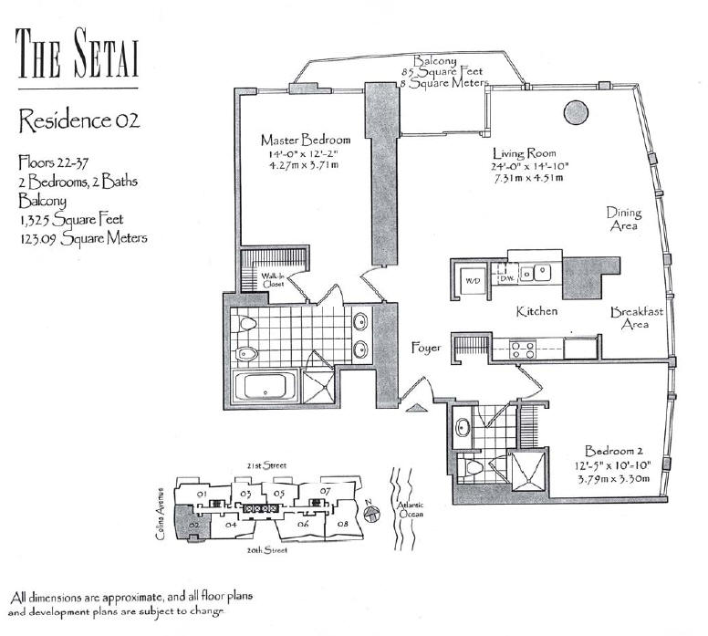 Setai - Floorplan 1