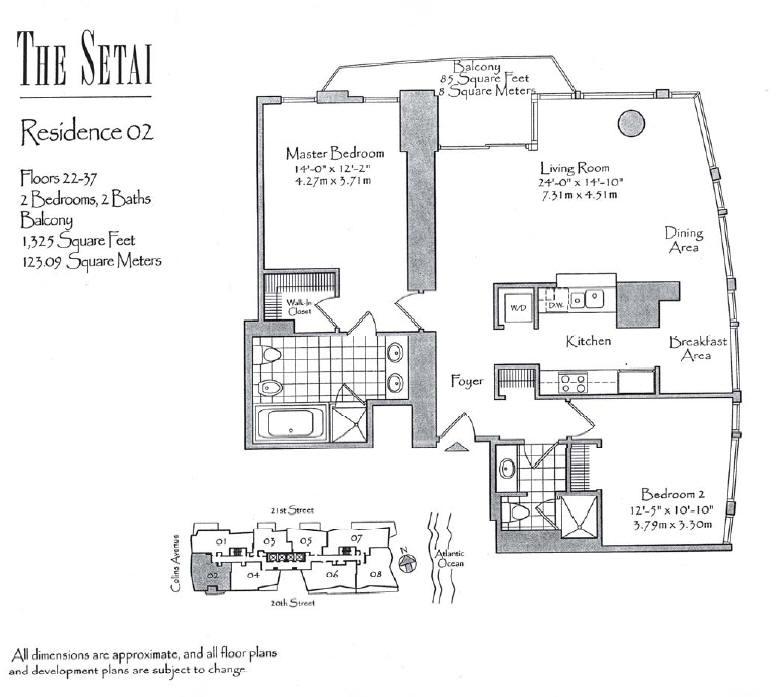 Setai - Floorplan 1