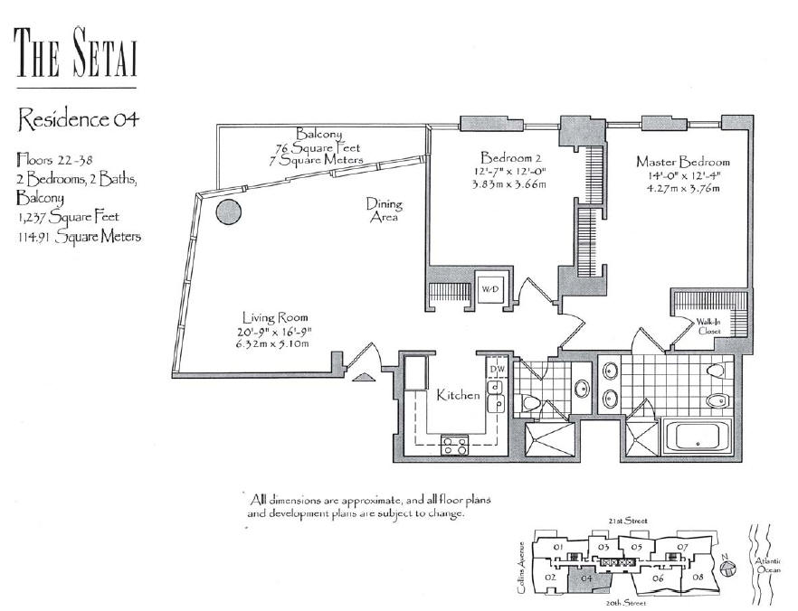 Setai - Floorplan 2