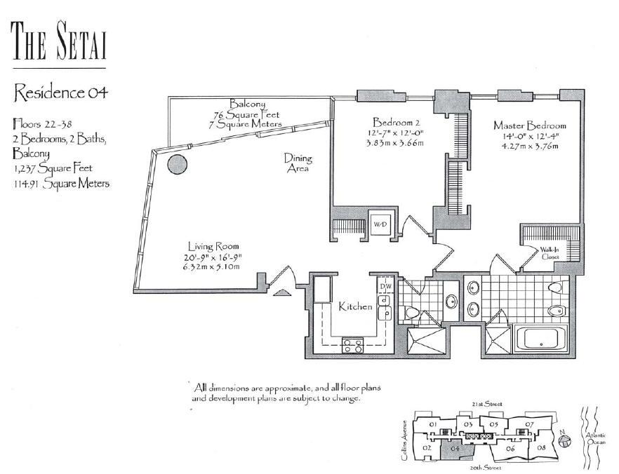 Setai - Floorplan 2