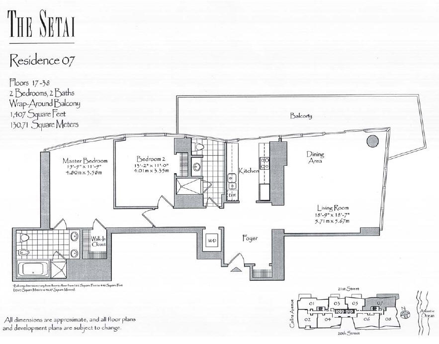 Setai - Floorplan 3