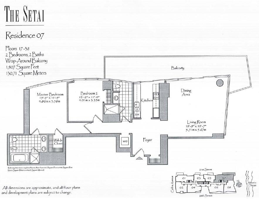 Setai - Floorplan 3