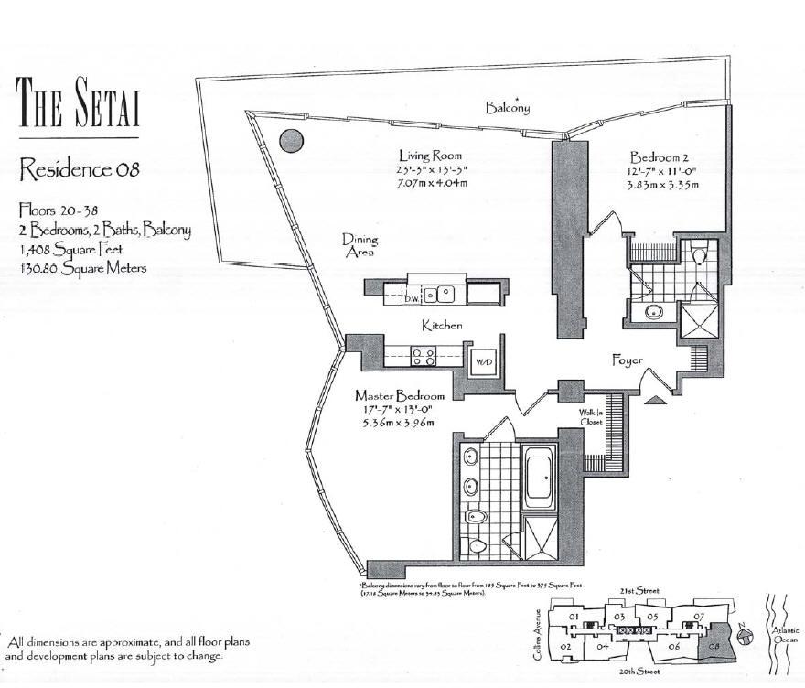 Setai - Floorplan 4