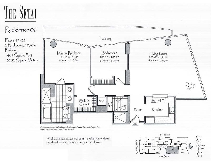 Setai - Floorplan 5