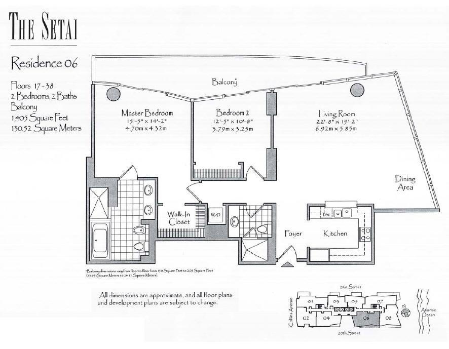 Setai - Floorplan 5