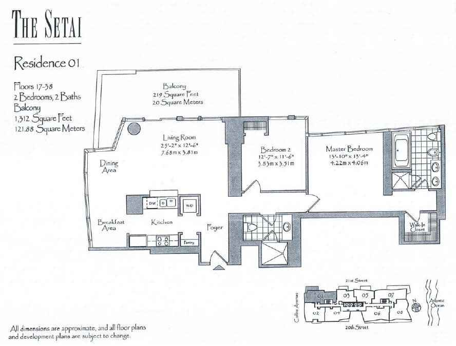 Setai - Floorplan 6