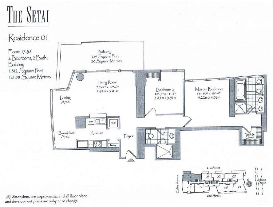 Setai - Floorplan 6