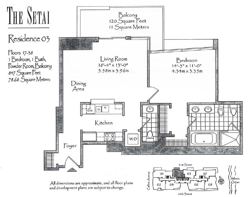 Setai - Floorplan 7