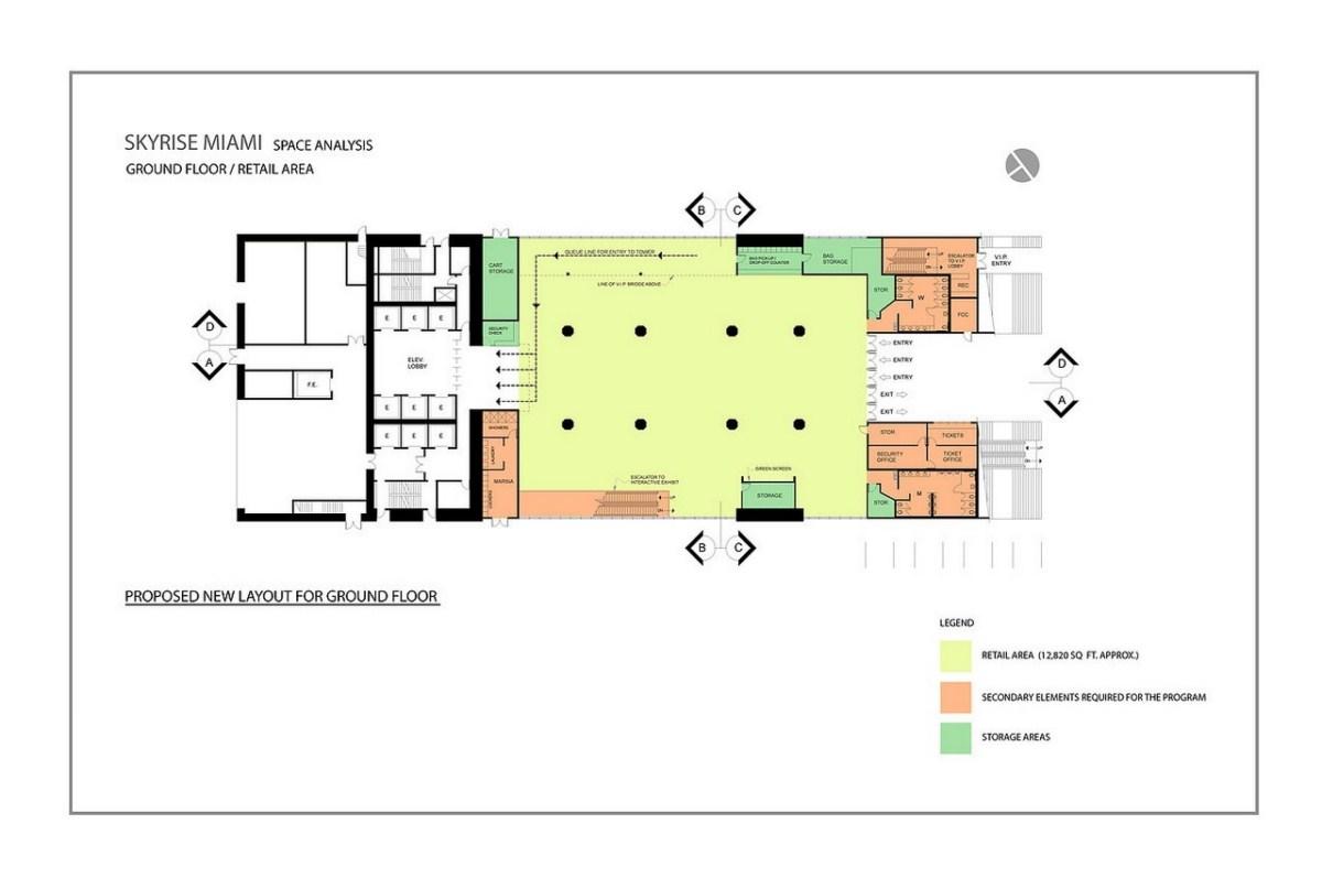 Skyrise - Floorplan 1