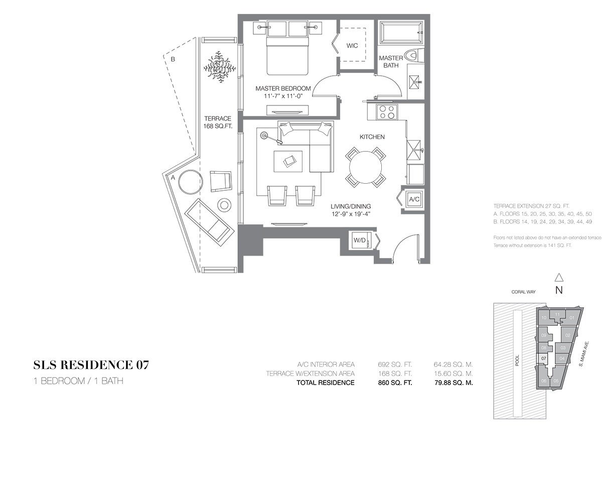 SLS Brickell - Floorplan 9