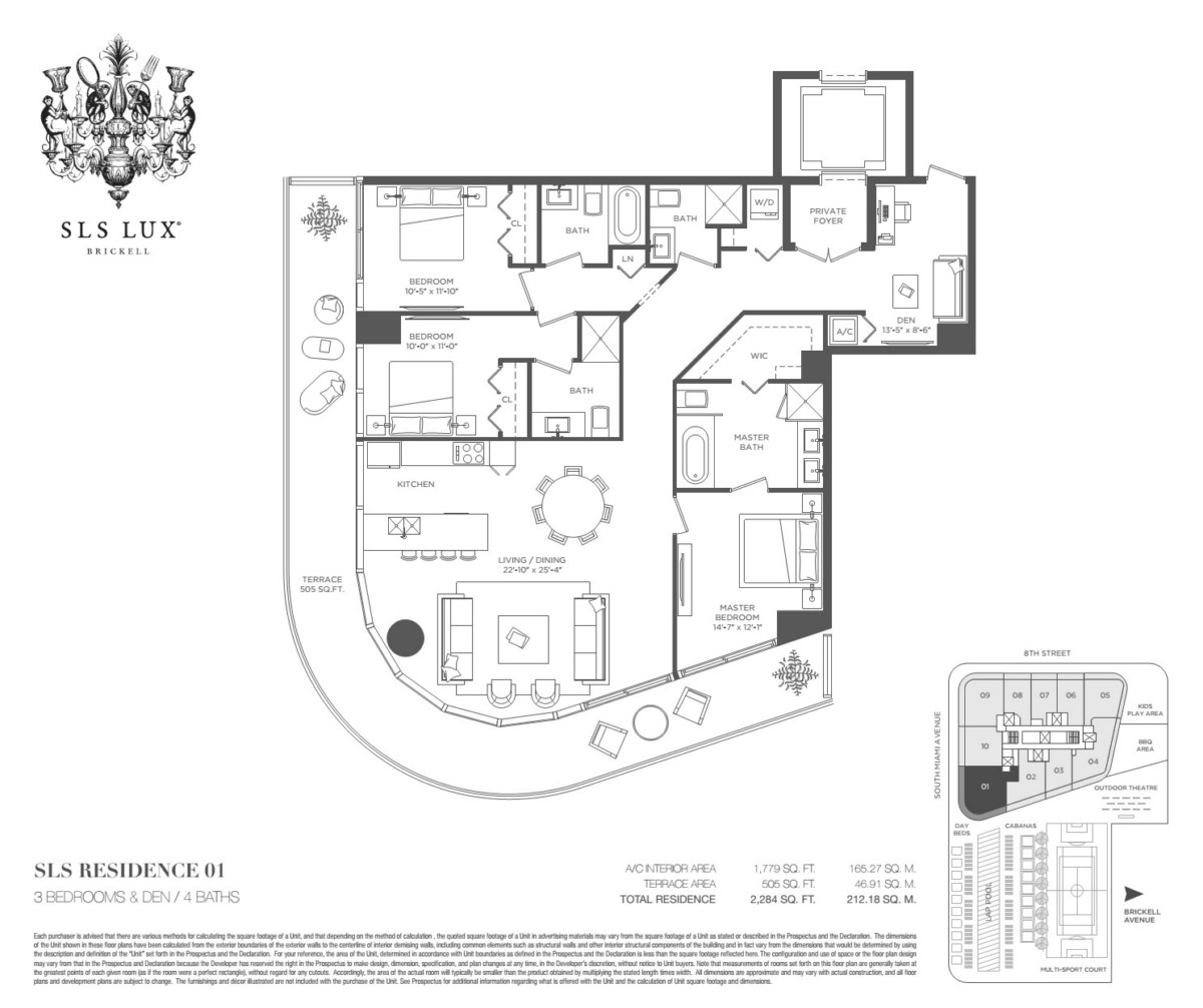 SLS Lux - Floorplan 2