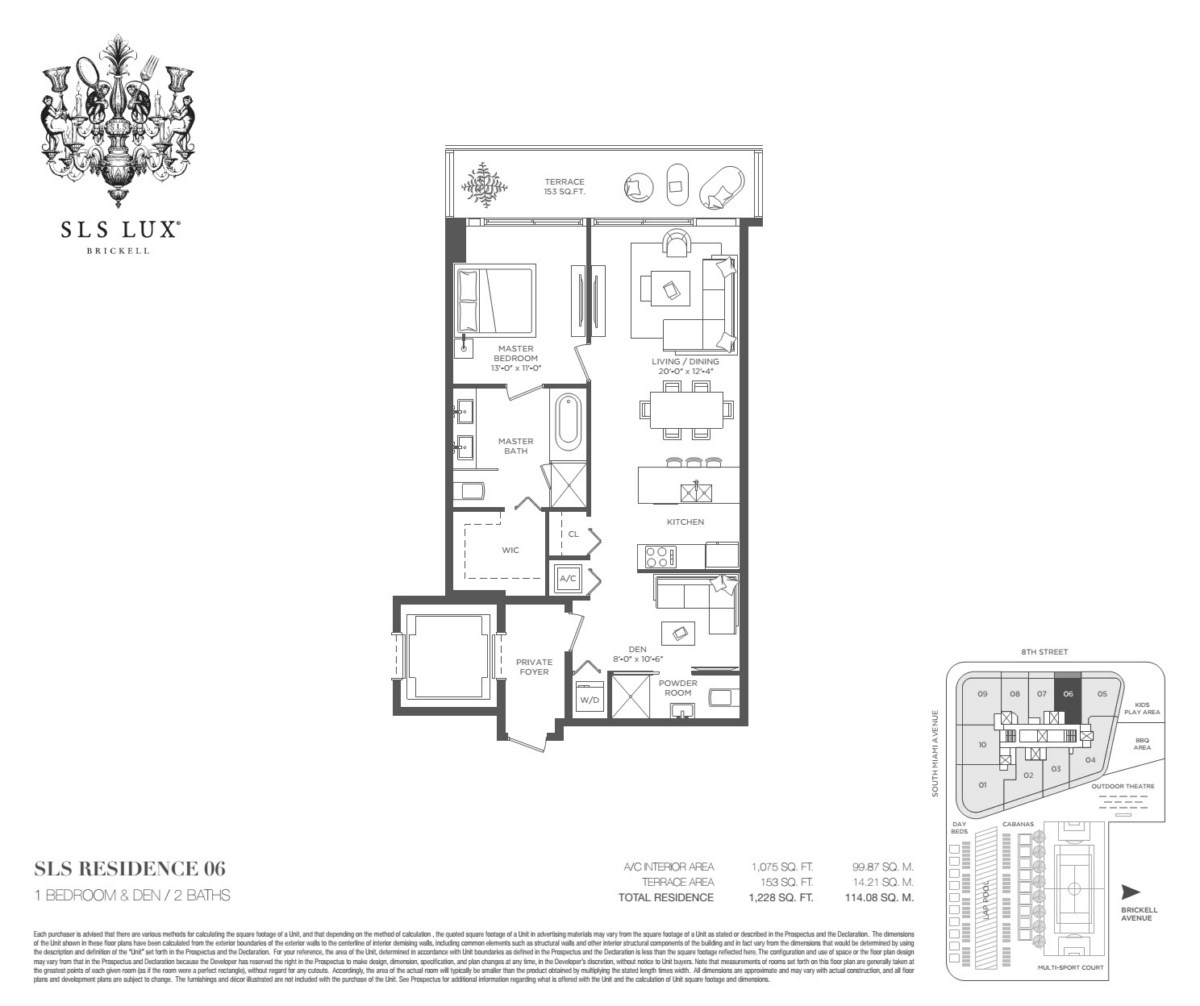 SLS Lux - Floorplan 5
