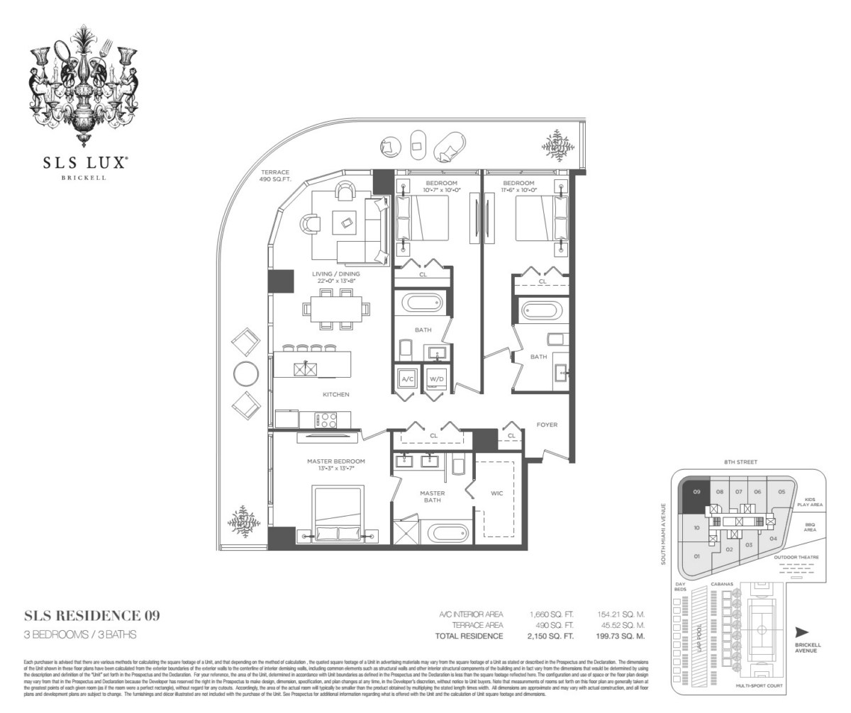 SLS Lux - Floorplan 10