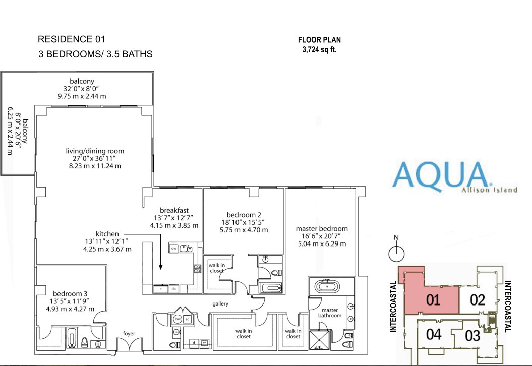 Spear At Aqua - Floorplan 2