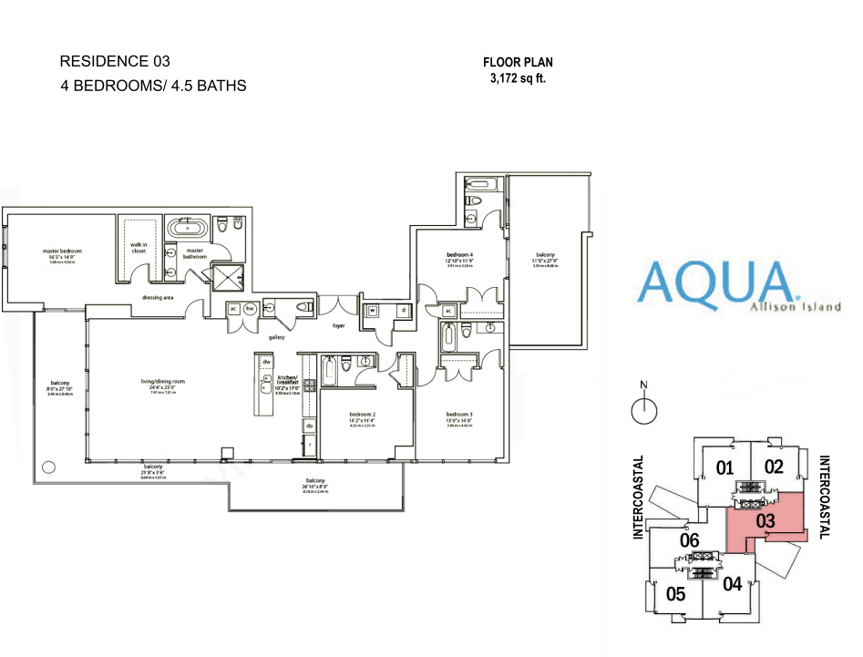 Spear At Aqua - Floorplan 5