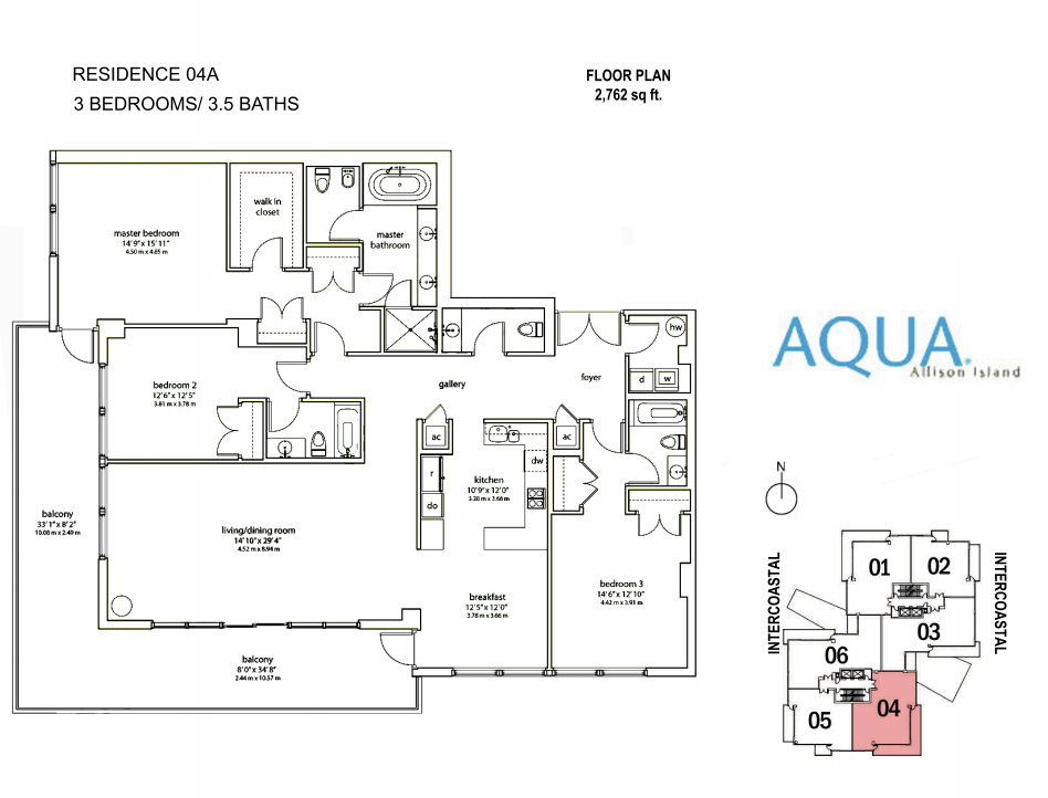Spear At Aqua - Floorplan 6