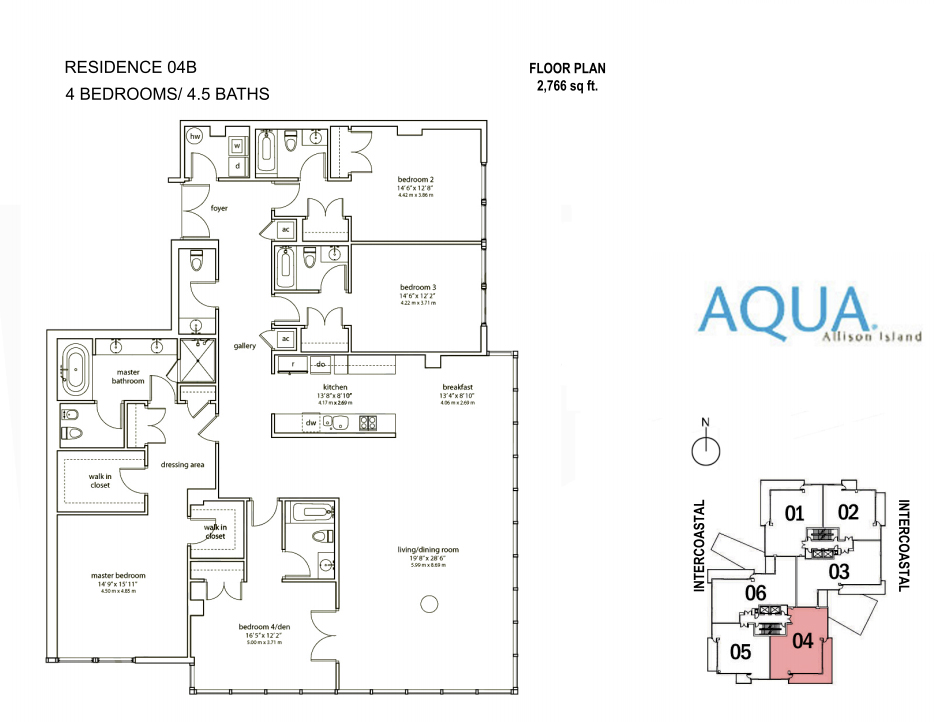 Spear At Aqua - Floorplan 7