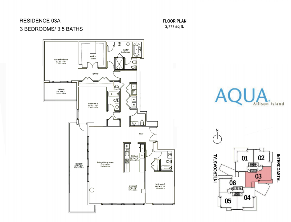Spear At Aqua - Floorplan 9