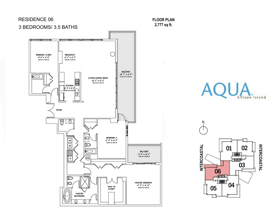 Spear At Aqua - Floorplan 10